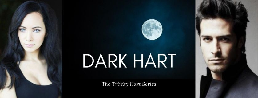 Book Page Banner: Dark Hart. Book 1 of The Trinity Hart Series by Ari Meghlen