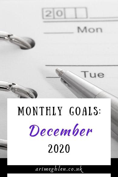 NEW Banner - Monthly goals Dec 2020