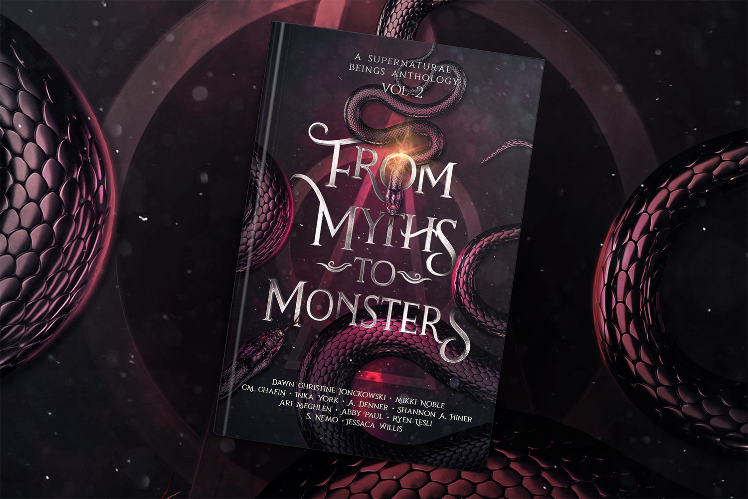 Book cover of From Myths To Monsters, Supernatural Beings Anthology Volume 2