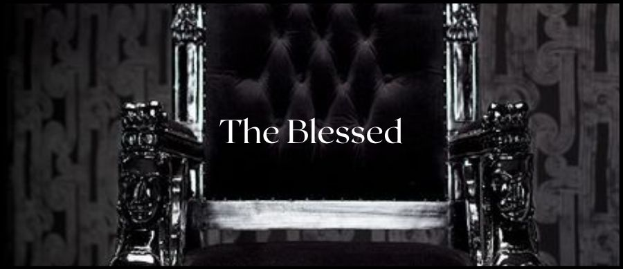 The Blessed (Fantasy Series) image of a black throne