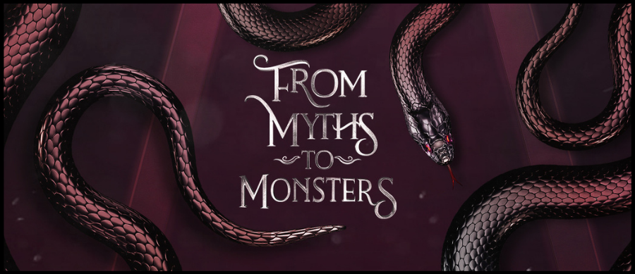 Featured Image Header: From Myths To Monsters book cover