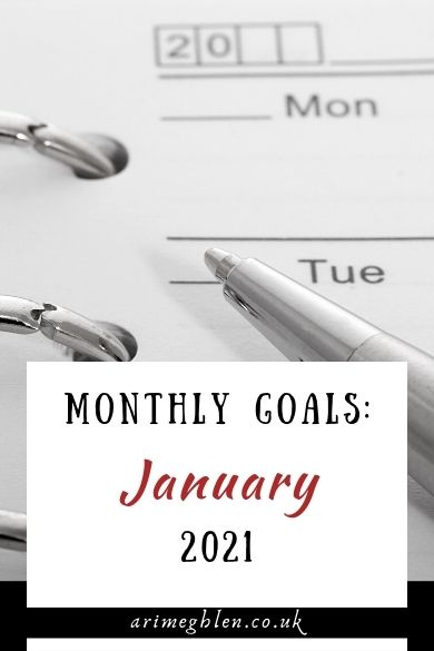 Banner - Monthly Goals January 2021