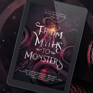 3D mockup From Myths To Monsters: Supernatural Beings Anthology vol 2