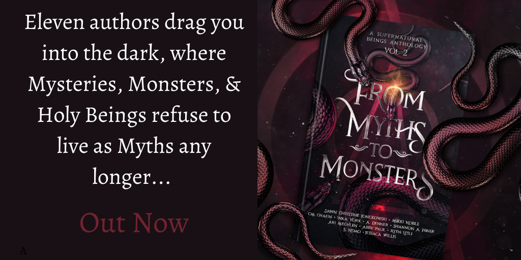 Book Banner - From Myths To Monsters Anthology