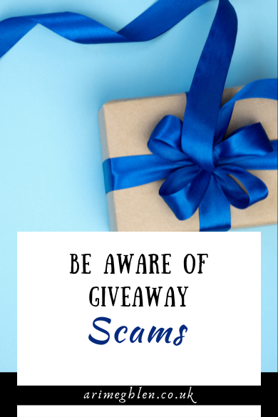 Be Aware Of Giveaway Scams